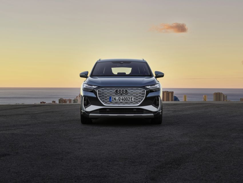 Audi Q4 e-tron, Q4 Sportback e-tron diperkenalkan – tiga varian penjana kuasa, jarak hingga 520 km, 299 PS Image #1281302