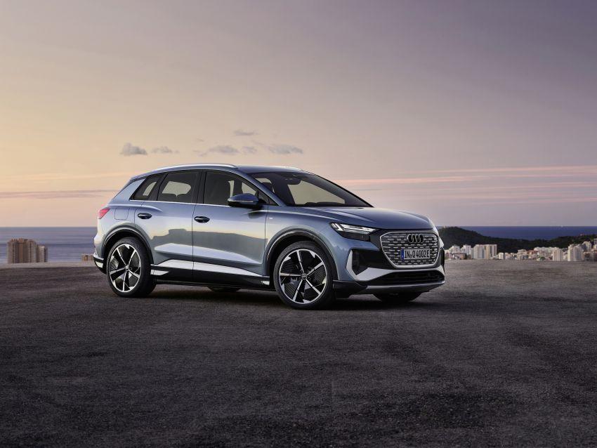 Audi Q4 e-tron, Q4 Sportback e-tron diperkenalkan – tiga varian penjana kuasa, jarak hingga 520 km, 299 PS Image #1281307