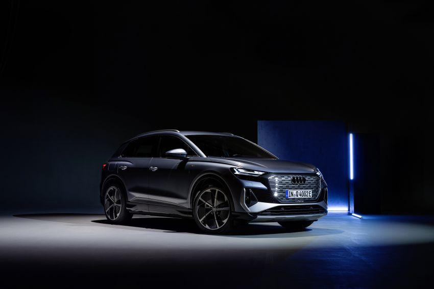 Audi Q4 e-tron, Q4 Sportback e-tron diperkenalkan – tiga varian penjana kuasa, jarak hingga 520 km, 299 PS Image #1281316