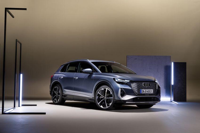 Audi Q4 e-tron, Q4 Sportback e-tron diperkenalkan – tiga varian penjana kuasa, jarak hingga 520 km, 299 PS Image #1281317