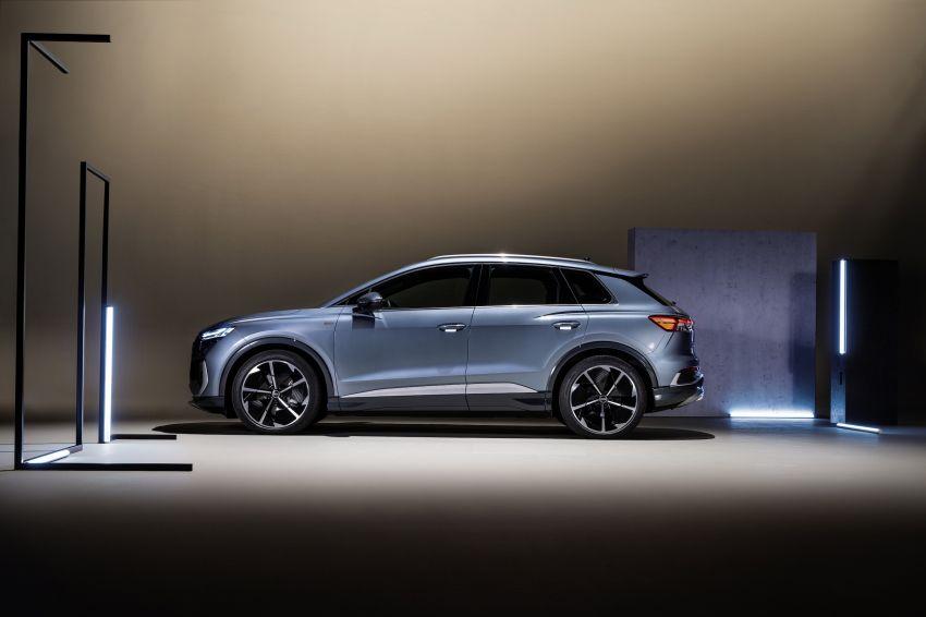 Audi Q4 e-tron, Q4 Sportback e-tron diperkenalkan – tiga varian penjana kuasa, jarak hingga 520 km, 299 PS Image #1281320