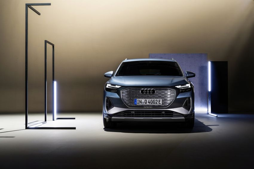 Audi Q4 e-tron, Q4 Sportback e-tron diperkenalkan – tiga varian penjana kuasa, jarak hingga 520 km, 299 PS Image #1281321