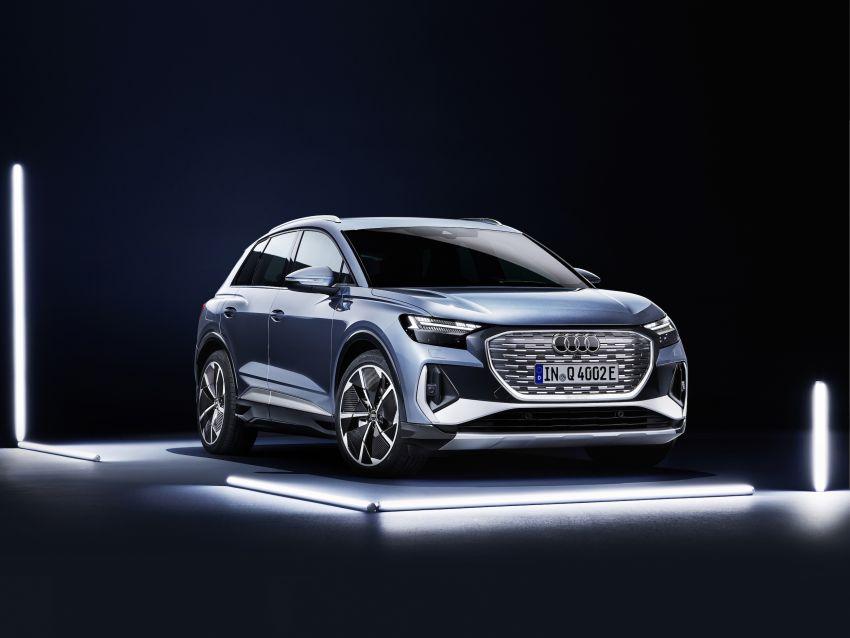 Audi Q4 e-tron, Q4 Sportback e-tron diperkenalkan – tiga varian penjana kuasa, jarak hingga 520 km, 299 PS Image #1281322