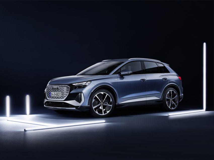 Audi Q4 e-tron, Q4 Sportback e-tron diperkenalkan – tiga varian penjana kuasa, jarak hingga 520 km, 299 PS Image #1281323
