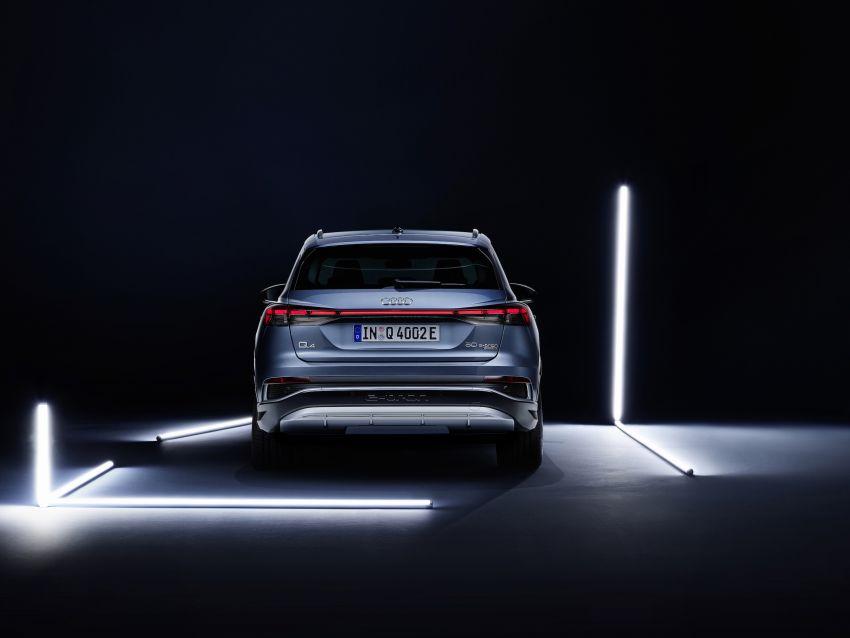 Audi Q4 e-tron, Q4 Sportback e-tron diperkenalkan – tiga varian penjana kuasa, jarak hingga 520 km, 299 PS Image #1281329