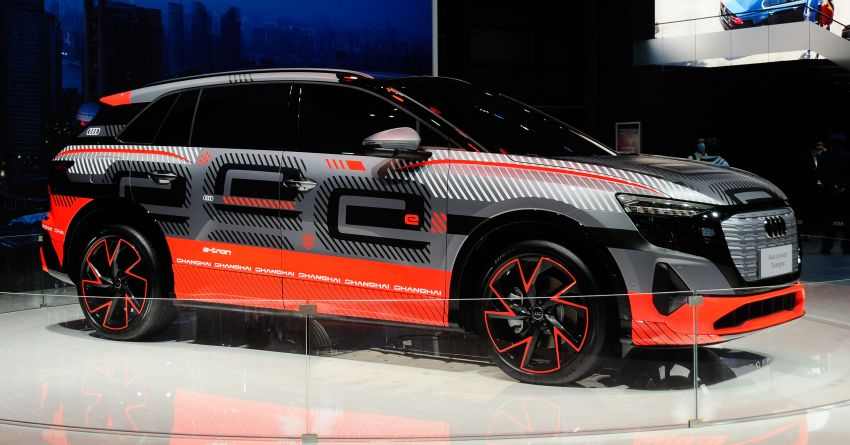 Audi concept Shanghai previews new electric SUV for China – production version due in second half of 2021 Image #1284418