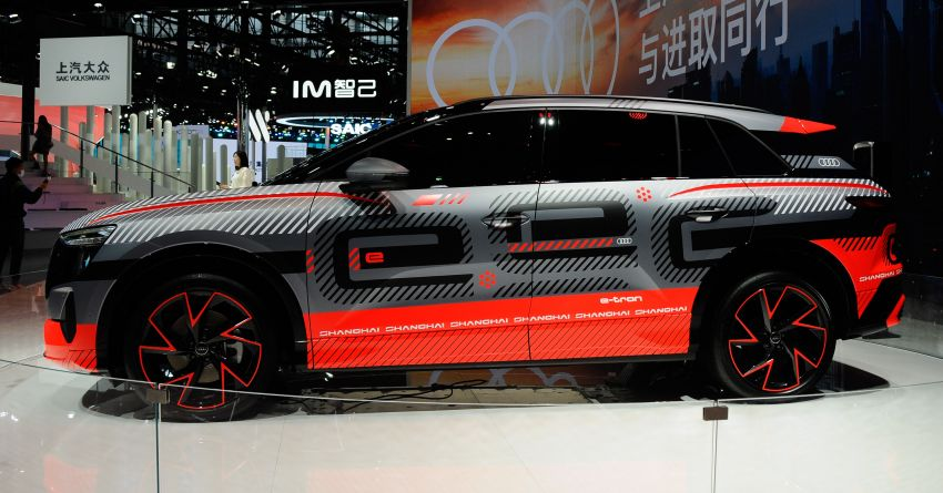 Audi concept Shanghai previews new electric SUV for China – production version due in second half of 2021 Image #1284426