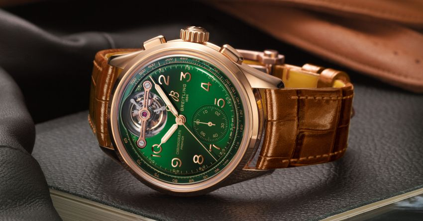 New Breitling Premier B21 Chronograph Tourbillon 42 Bentley Limited Edition – 25 units only, costs RM214k Image #1275174