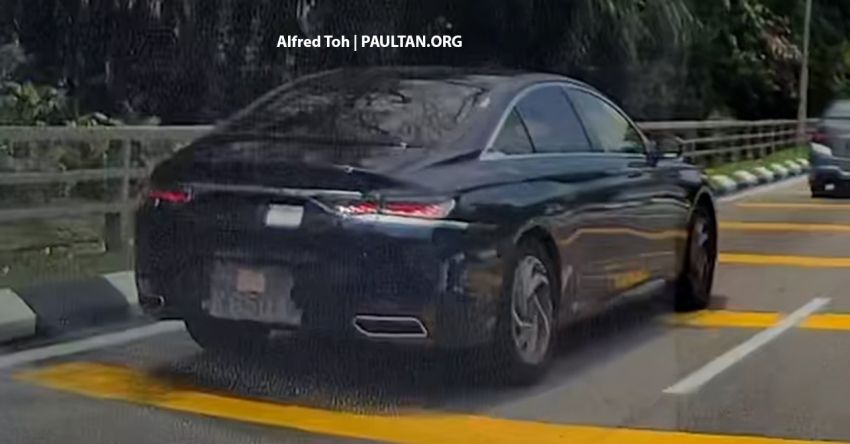 SPIED: 2021 DS9 flagship sedan spotted testing in KL! Image #1276220