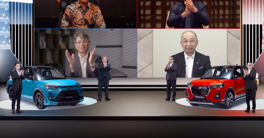 Daihatsu Rocky, Toyota Raize teased for Indonesia – GR Sport kit for Raize, to be exported to 50 countries Image #1288770
