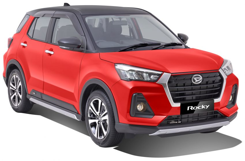 Daihatsu Rocky launched in Indonesia – 1.2L NA and 1.0L turbo, M/T or CVT, ASA available, RM61k to RM67k Image #1288956