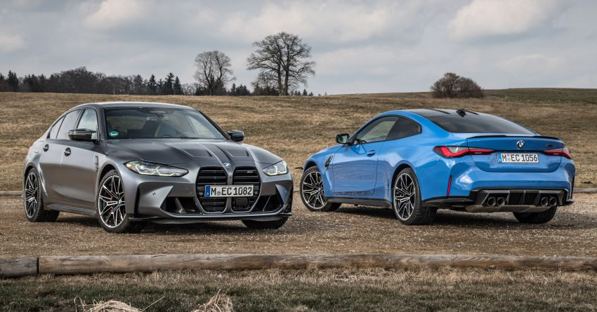 G80 BMW M3 and G82 M4 gain M xDrive AWD system – 510 PS and 650 Nm; 0-100 km/h in just 3.5 seconds Image #1283449