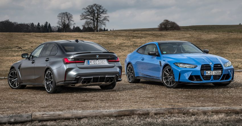 G80 BMW M3 and G82 M4 gain M xDrive AWD system – 510 PS and 650 Nm; 0-100 km/h in just 3.5 seconds Image #1283450
