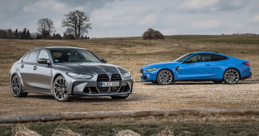 G80 BMW M3 and G82 M4 gain M xDrive AWD system – 510 PS and 650 Nm; 0-100 km/h in just 3.5 seconds Image #1283452