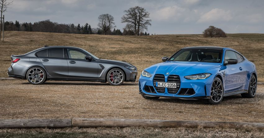 G80 BMW M3 and G82 M4 gain M xDrive AWD system – 510 PS and 650 Nm; 0-100 km/h in just 3.5 seconds Image #1283453