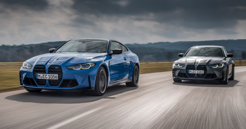 G80 BMW M3 and G82 M4 gain M xDrive AWD system – 510 PS and 650 Nm; 0-100 km/h in just 3.5 seconds Image #1283454