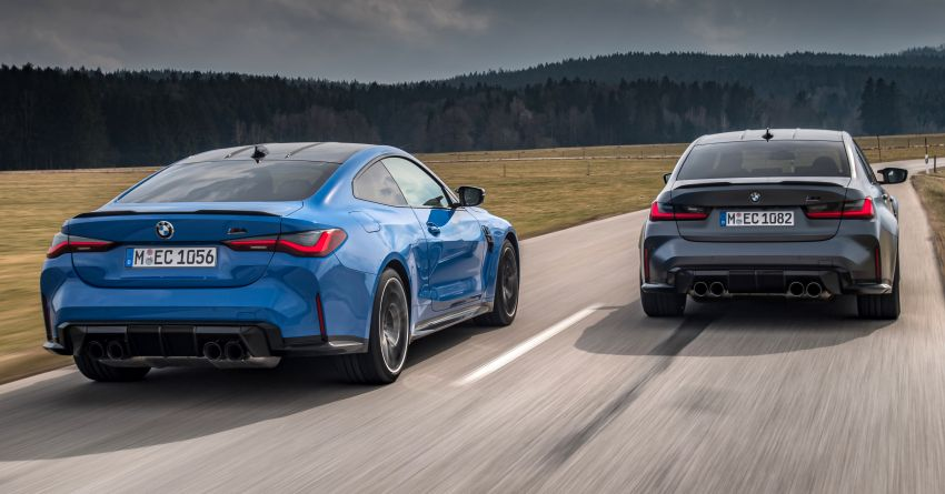 G80 BMW M3 and G82 M4 gain M xDrive AWD system – 510 PS and 650 Nm; 0-100 km/h in just 3.5 seconds Image #1283458