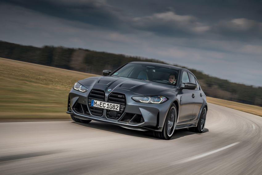 G80 BMW M3 and G82 M4 gain M xDrive AWD system – 510 PS and 650 Nm; 0-100 km/h in just 3.5 seconds Image #1283473