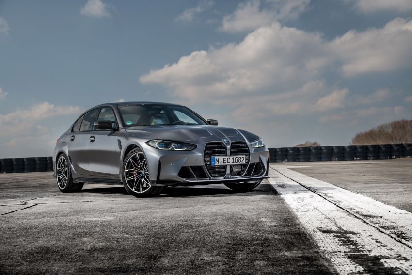 G80 BMW M3 and G82 M4 gain M xDrive AWD system – 510 PS and 650 Nm; 0-100 km/h in just 3.5 seconds Image #1283479