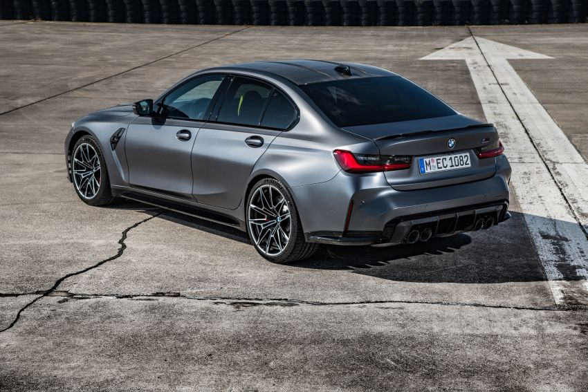G80 BMW M3 and G82 M4 gain M xDrive AWD system – 510 PS and 650 Nm; 0-100 km/h in just 3.5 seconds Image #1283485