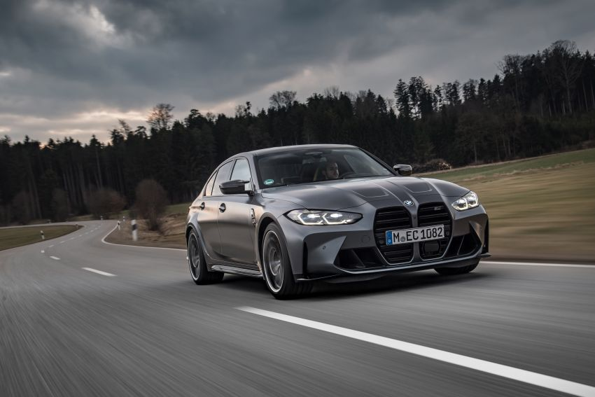 G80 BMW M3 and G82 M4 gain M xDrive AWD system – 510 PS and 650 Nm; 0-100 km/h in just 3.5 seconds Image #1283467