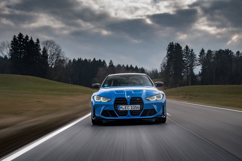G80 BMW M3 and G82 M4 gain M xDrive AWD system – 510 PS and 650 Nm; 0-100 km/h in just 3.5 seconds Image #1283499