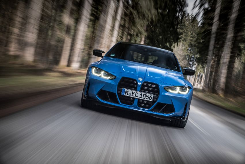 G80 BMW M3 and G82 M4 gain M xDrive AWD system – 510 PS and 650 Nm; 0-100 km/h in just 3.5 seconds Image #1283500