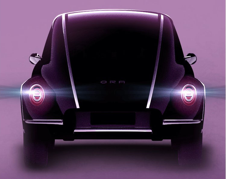 New GWM Ora EV teased ahead of Auto Shanghai debut this month – styling inspired by the VW Beetle Image #1279562