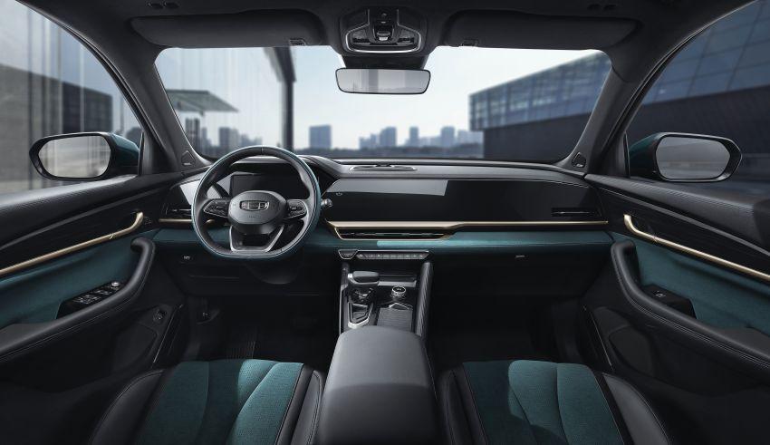 Geely Xingyue L new pix, details – 238 PS/350 Nm 2.0L turbo, AWD, 0-100 km/h 7.7 secs, Emerald Blue colour Image #1273224