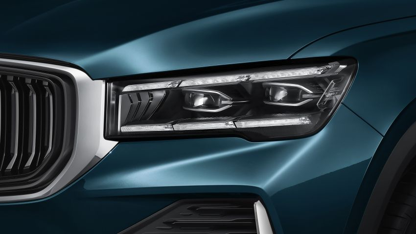 Geely Xingyue L new pix, details – 238 PS/350 Nm 2.0L turbo, AWD, 0-100 km/h 7.7 secs, Emerald Blue colour Image #1273217