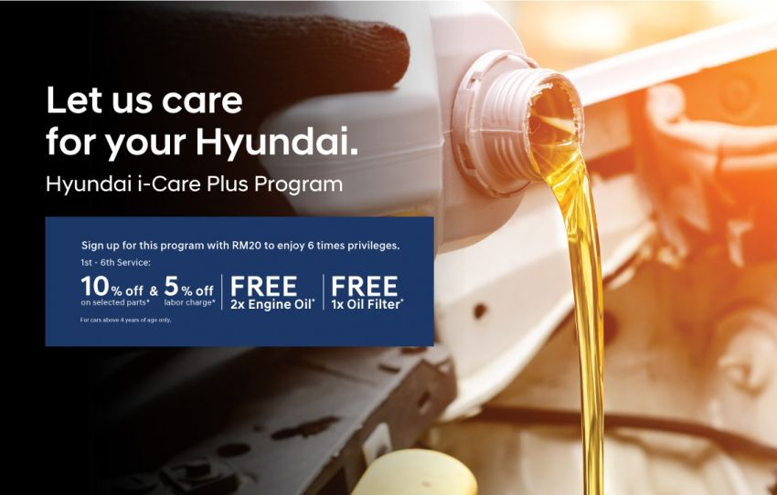 Hyundai-Sime Darby Motors introduces i-Care Plus service programme, loyalty card for monthly rewards Image #1276374