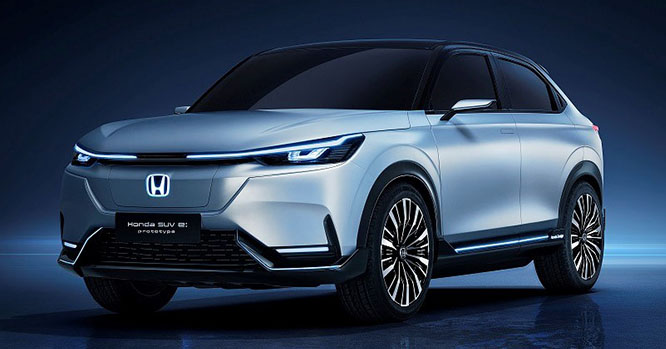 Honda SUV e:prototype revealed at Auto Shanghai 2021 – previews upcoming HR-V EV launching in 2022 Image #1283662