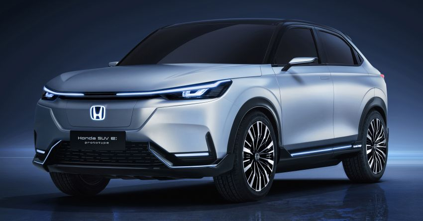 Honda SUV e:prototype revealed at Auto Shanghai 2021 – previews upcoming HR-V EV launching in 2022 Image #1283838