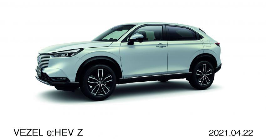 Honda HR-V 2022 rasmi dilancarkan di Jepun – bermula RM87k, pilihan enjin 1.5L NA dan hibrid e:HEV Image #1286194