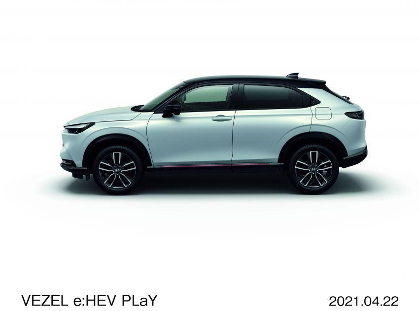 Honda HR-V 2022 rasmi dilancarkan di Jepun – bermula RM87k, pilihan enjin 1.5L NA dan hibrid e:HEV Image #1286203