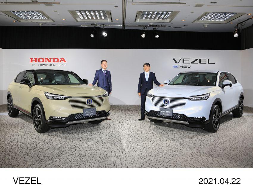 Honda HR-V 2022 rasmi dilancarkan di Jepun – bermula RM87k, pilihan enjin 1.5L NA dan hibrid e:HEV Image #1286303