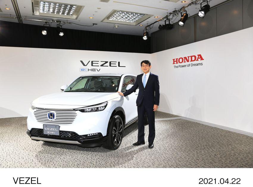 Honda HR-V 2022 rasmi dilancarkan di Jepun – bermula RM87k, pilihan enjin 1.5L NA dan hibrid e:HEV Image #1286304