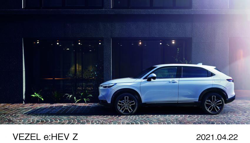 Honda HR-V 2022 rasmi dilancarkan di Jepun – bermula RM87k, pilihan enjin 1.5L NA dan hibrid e:HEV Image #1286206