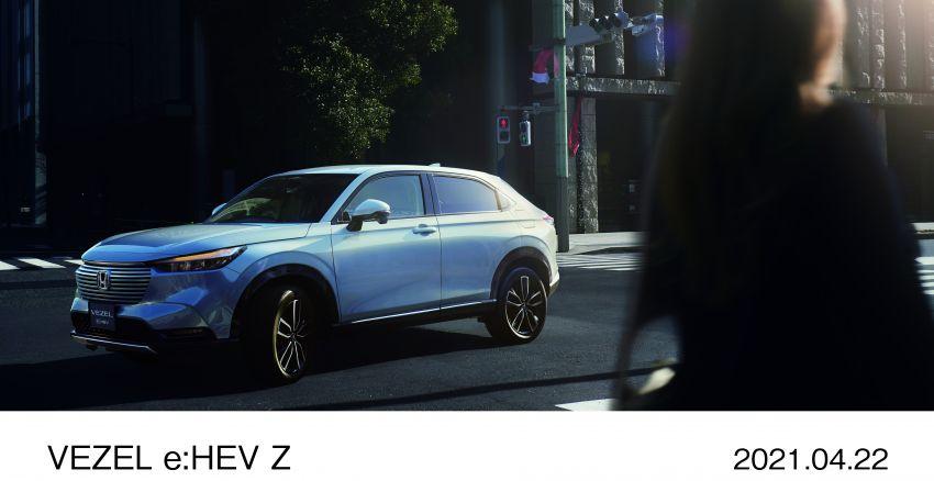 Honda HR-V 2022 rasmi dilancarkan di Jepun – bermula RM87k, pilihan enjin 1.5L NA dan hibrid e:HEV Image #1286209