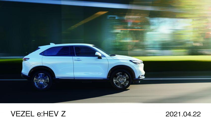 Honda HR-V 2022 rasmi dilancarkan di Jepun – bermula RM87k, pilihan enjin 1.5L NA dan hibrid e:HEV Image #1286210
