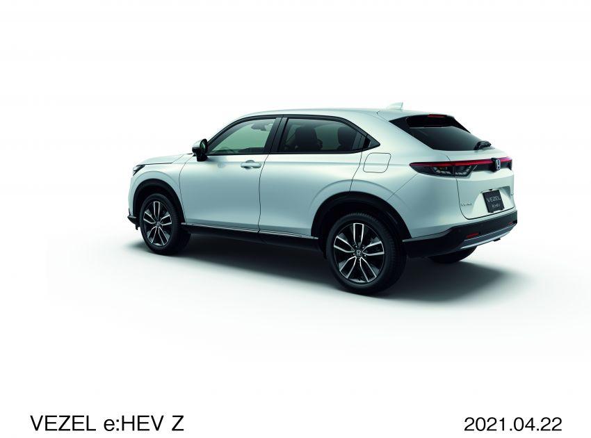Honda HR-V 2022 rasmi dilancarkan di Jepun – bermula RM87k, pilihan enjin 1.5L NA dan hibrid e:HEV Image #1286195