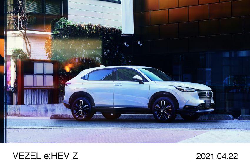 Honda HR-V 2022 rasmi dilancarkan di Jepun – bermula RM87k, pilihan enjin 1.5L NA dan hibrid e:HEV Image #1286214