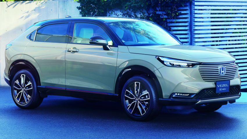 Honda HR-V 2022 rasmi dilancarkan di Jepun – bermula RM87k, pilihan enjin 1.5L NA dan hibrid e:HEV Image #1286215