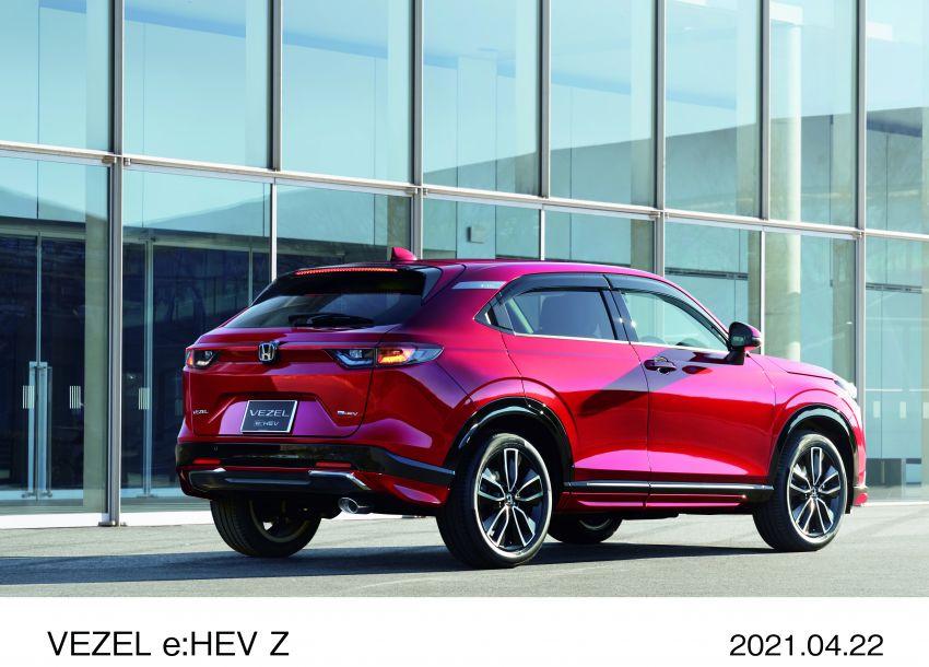 Honda HR-V 2022 rasmi dilancarkan di Jepun – bermula RM87k, pilihan enjin 1.5L NA dan hibrid e:HEV Image #1286217