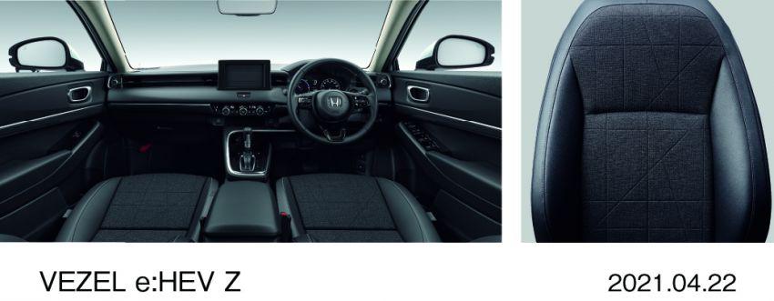 Honda HR-V 2022 rasmi dilancarkan di Jepun – bermula RM87k, pilihan enjin 1.5L NA dan hibrid e:HEV Image #1286221