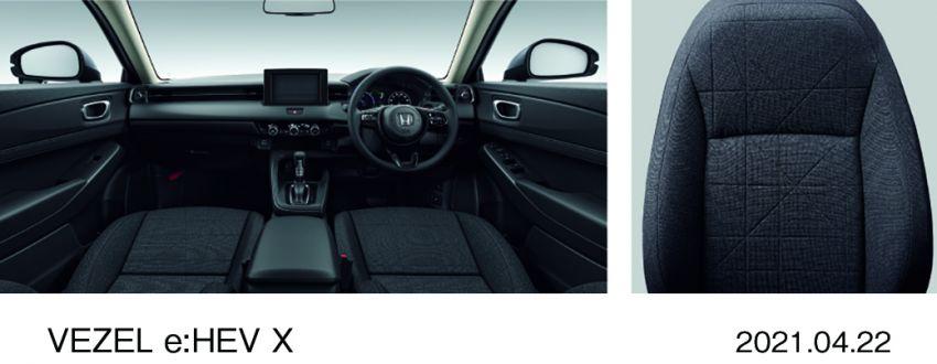 Honda HR-V 2022 rasmi dilancarkan di Jepun – bermula RM87k, pilihan enjin 1.5L NA dan hibrid e:HEV Image #1286223