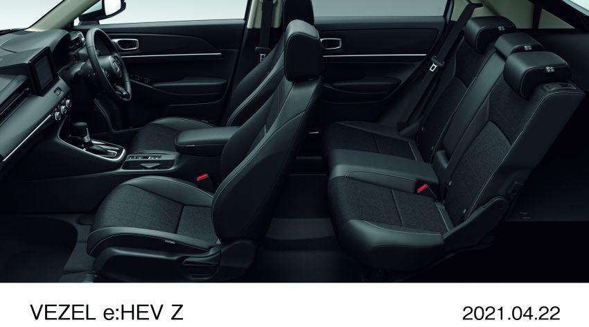 Honda HR-V 2022 rasmi dilancarkan di Jepun – bermula RM87k, pilihan enjin 1.5L NA dan hibrid e:HEV Image #1286224