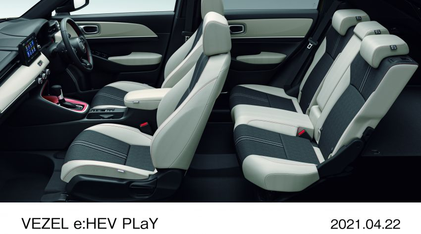 Honda HR-V 2022 rasmi dilancarkan di Jepun – bermula RM87k, pilihan enjin 1.5L NA dan hibrid e:HEV Image #1286225