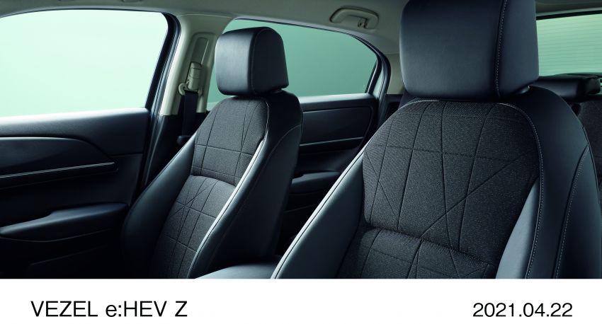 Honda HR-V 2022 rasmi dilancarkan di Jepun – bermula RM87k, pilihan enjin 1.5L NA dan hibrid e:HEV Image #1286227