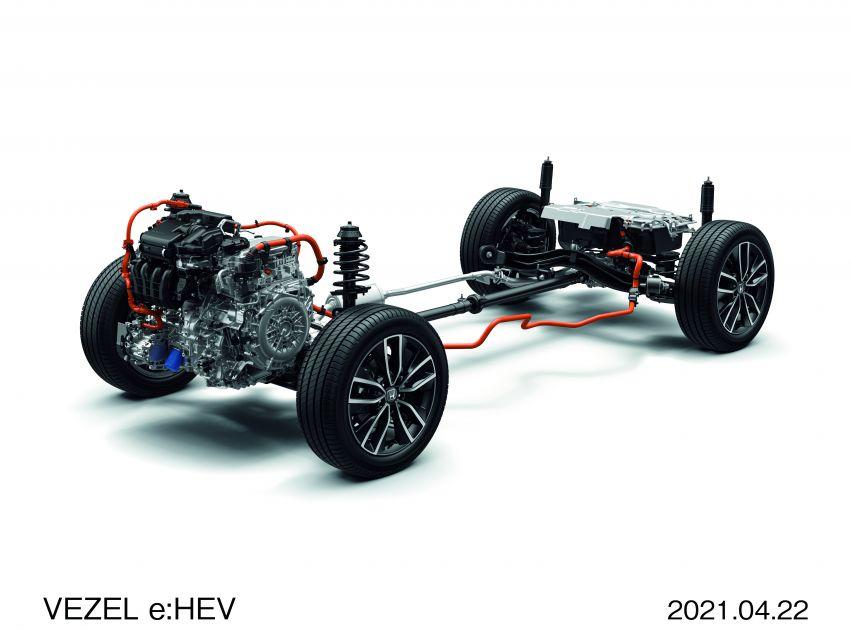 Honda HR-V 2022 rasmi dilancarkan di Jepun – bermula RM87k, pilihan enjin 1.5L NA dan hibrid e:HEV Image #1286232